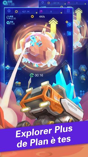 Idle Galaxy Miner  captures d'écran 2