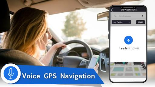 Voice GPS Navigation 2020 - Live Earth Map Parking 1.1.2 1