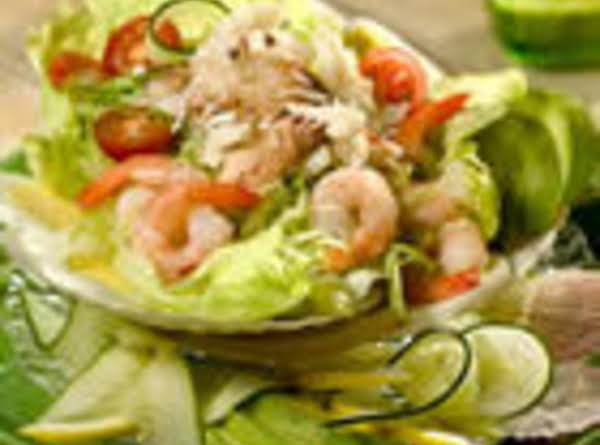 Crab & Shrimp Louis Salad Recipe