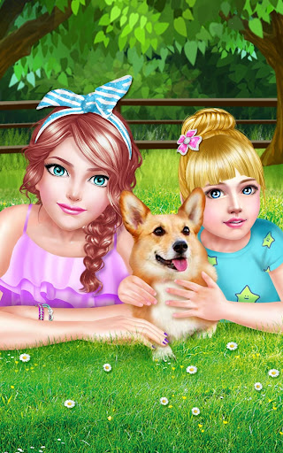 休閒必備免費app推薦|Sweet Sisters Cute Pet Fun Day線上免付費app下載|3C達人阿輝的APP