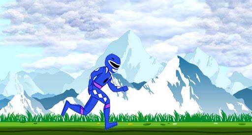 Blue Ranger Jump Game