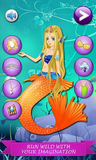 玩免費休閒APP|下載美人鱼穿上盛装 app不用錢|硬是要APP
