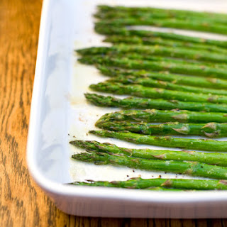 Simple Roasted Asparagus.