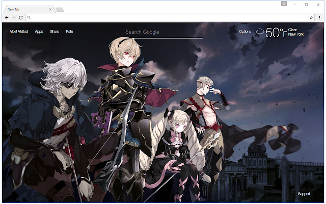 Fire Emblem Wallpaper HD New Tab Themes