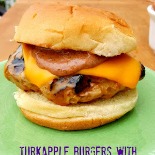 Turkapple Burgers with Yumback Sauce