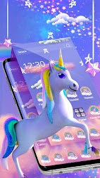 Rainbow unicorn APK screenshot thumbnail 4