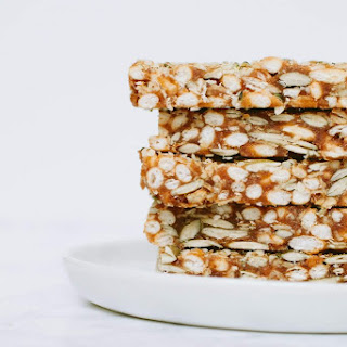 Puffed Rice & Seed Bars Recipe