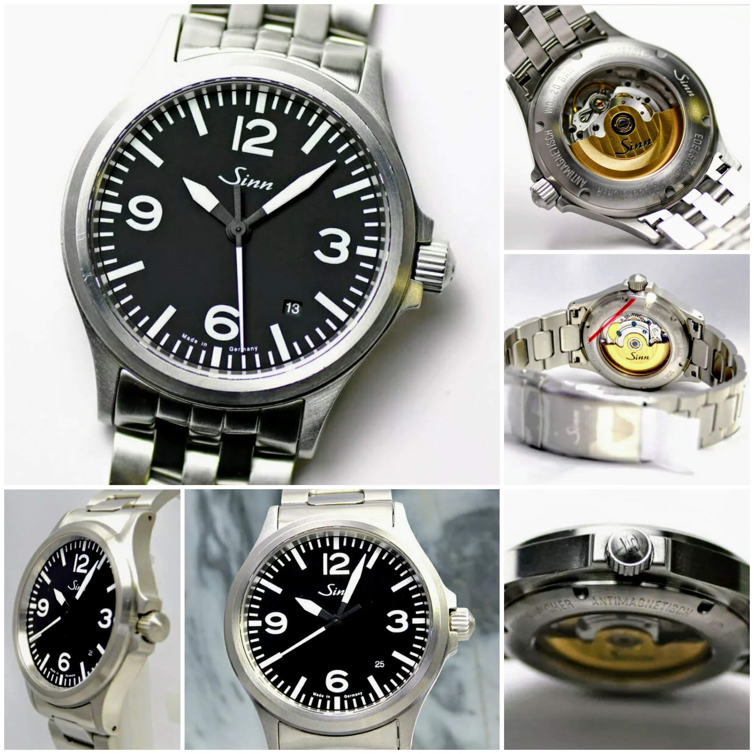 The Sinn 556A is a great everyday automatic watch. It is often compared to the Rolex Explorer. Sold on eBay