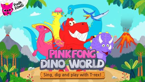 PINKFONG Dino World  screenshots 1