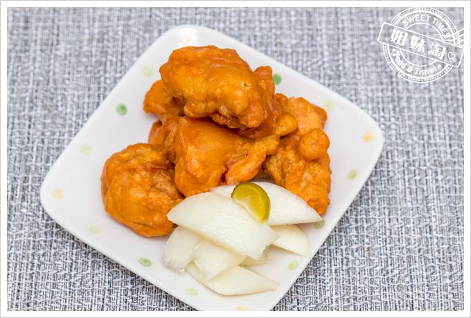 大頭韓式泡菜柚香蘿蔔韓式炸雞