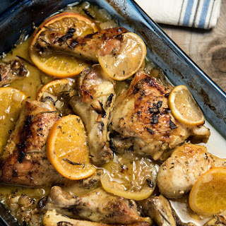 Roasted Citrus And Herb Chicken