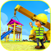 Playground Construction: Construct And Play Game