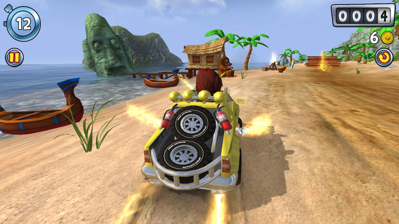 Screenshots of Beach Buggy Blitz for iPhone
