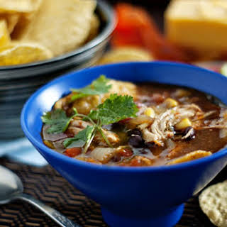 Chicken Tortilla Soup With Enchilada Sauce Recipes.