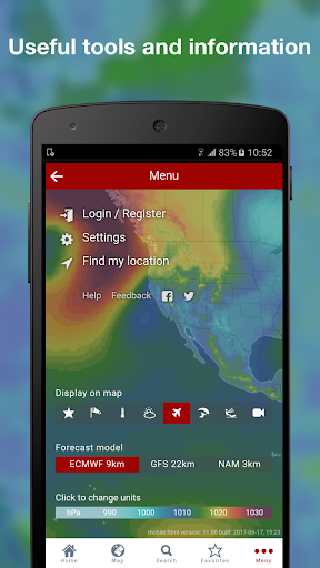 Windy: wind, waves and hurricanes forecast  screenshots 8
