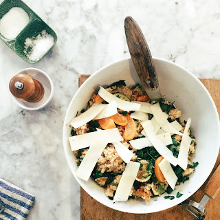 Roasted Zucchini and Apricot Tabbouleh.