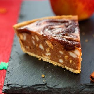 No Bake Apple Ice Cream Pie