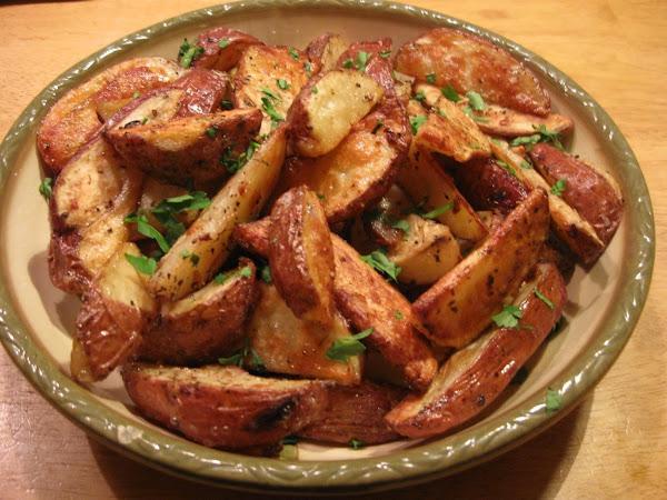 Herbed Potato Wedges Recipe