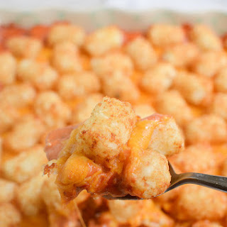 Sloppy Joe Tater Tot Casserole.