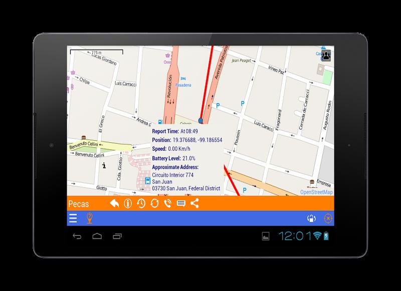 Скриншот PinPoint'm Localización y Rastreo GPS