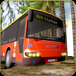 Bus subida de la colina 3D Gratis