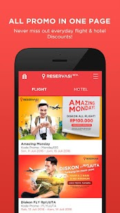 Reservasi.com - Flight & Hotel- screenshot thumbnail