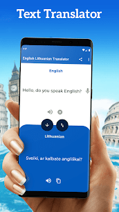 English Lithuanian Translator – Free Dictionary 1.5 Mod APK Download 1
