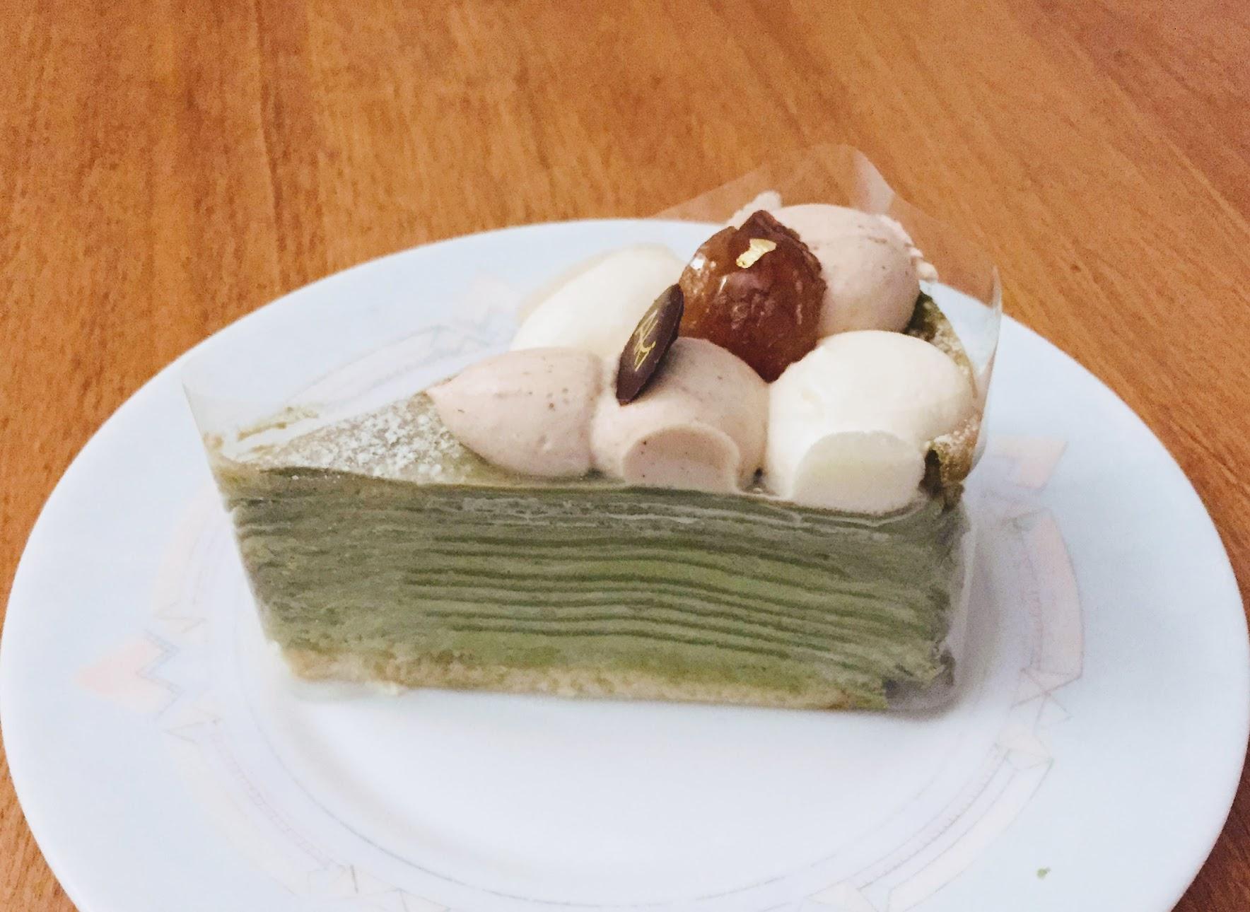 Aki Boulanger アキブランジェー 抹茶のミルクレープ