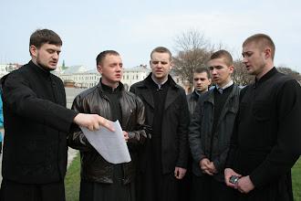 Photo: Співають семінаристи