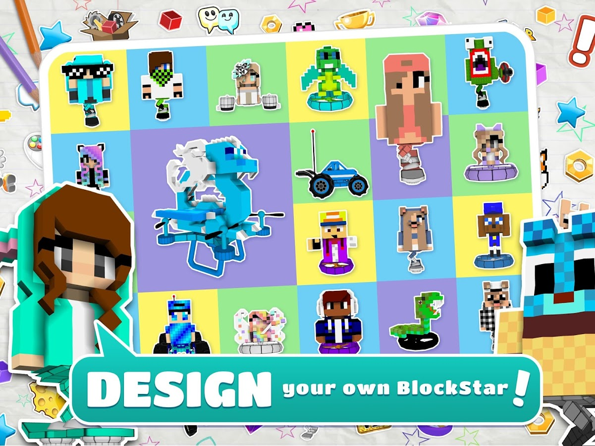 Design Your Character And Play : Blockstarplanet android apps on google play