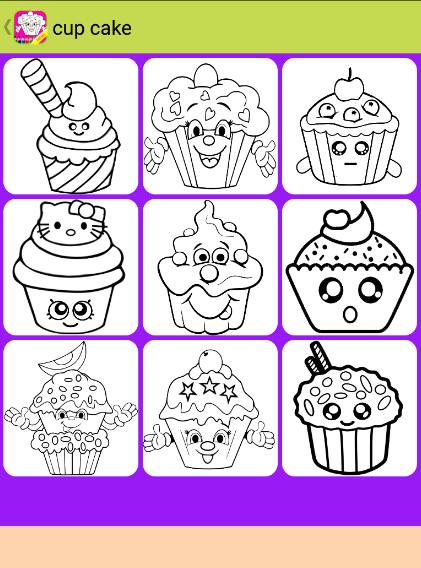 Food Coloring Book For Kids