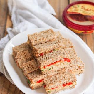 Chickpea Hummus Salad Sandwiches Recipe
