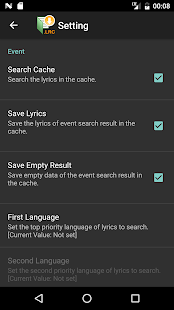 Medoly LRC Lyrics Plugin- screenshot thumbnail