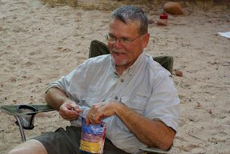 Photo: Tim doing the Mulligan.