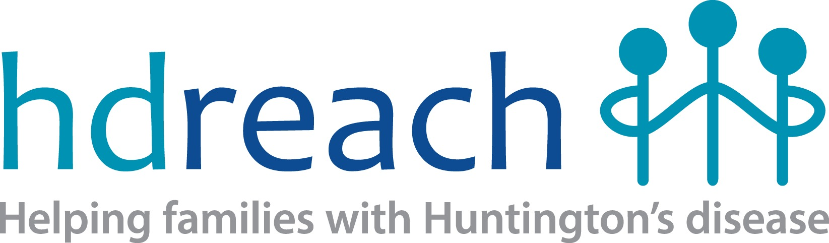 HD Reach Logo - Helping families with Huntington's disease