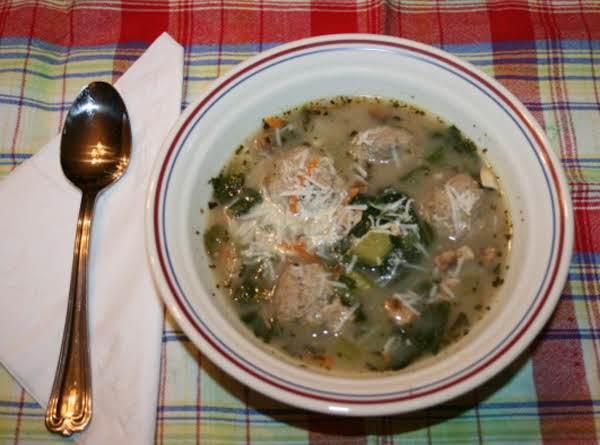 Italian Meatball Soup Recipe
