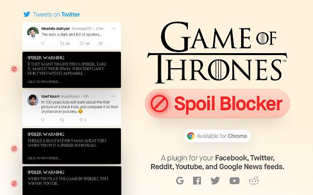 Game Of thrones Spoil Blocker 2019