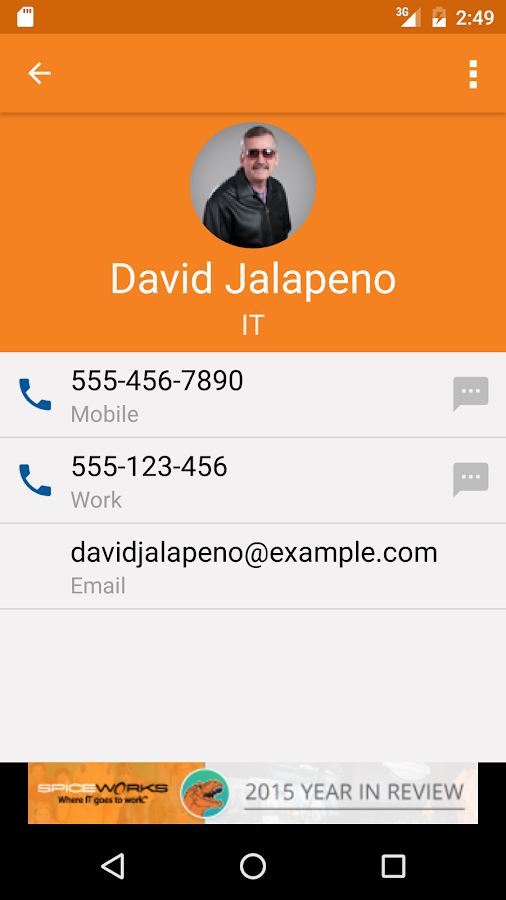 Spiceworks - Help Desk- screenshot