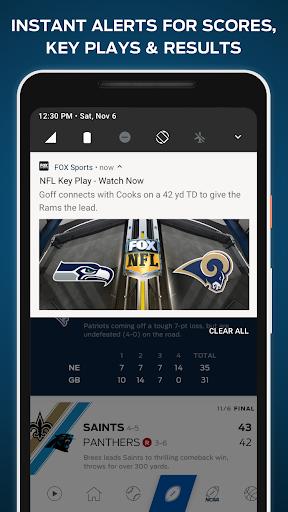 FOX Sports: Live Streaming, Scores & News screenshot