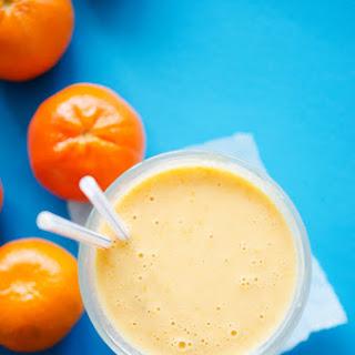 Healthy Orange Dreamsicle Smoothie.