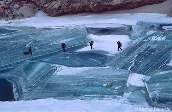 Photo: la glace dans tous ses états