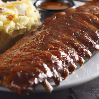 Grilled Baby Back Ribs with Bourbon BBQ Sauce