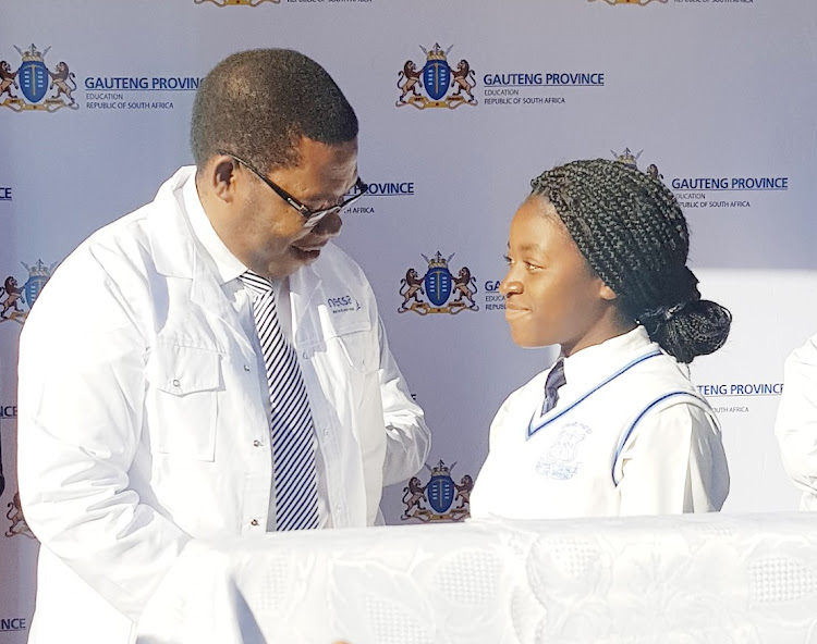 Gauteng Education MEC Panyaza Lesufi launches nuclear technology programme for township schools.