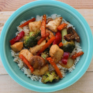 Easy Chicken Stir-Fry.