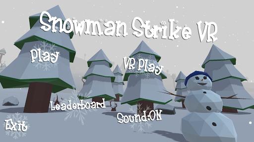 Snowman Strike VR