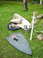 Photo: Vend Eduard on haavatud.