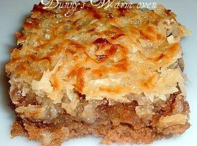 Oatmeal Cakew/ Broiled Coconut & Brown Sugar Top Recipe