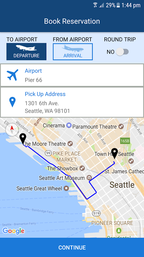 SpeediShuttle Seattle- screenshot