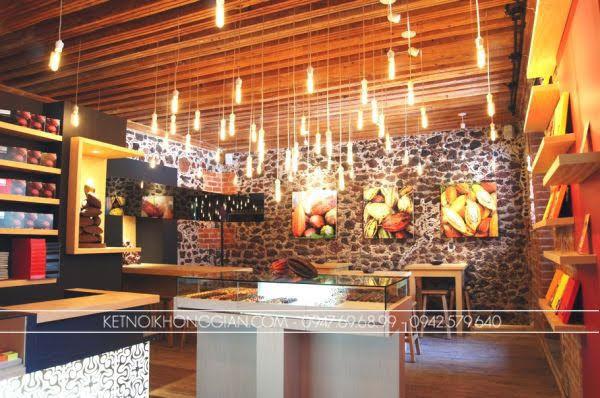 Thiết kế cửa hàng socola 1