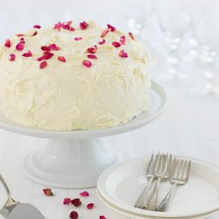Red Velvet, Raspberry & White Chocolate Ice Cream Cake